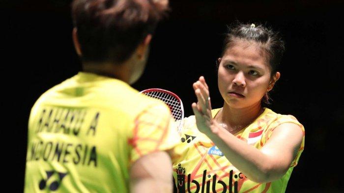 Semifinal Hong Kong Open 2018 - Sempat Menang di Gim Pertama, Greysa/Apriyani Akhirnya Menyerah