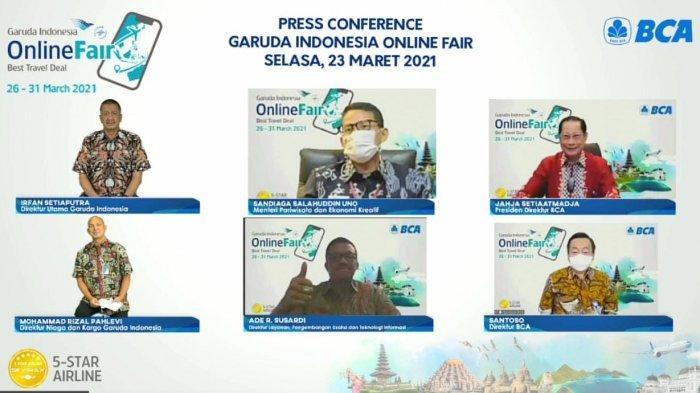 Garuda Indonesia Online Travel Fair (GOTF) Kembali Digelar Hadirkan Diskon Tiket Hingga 85%