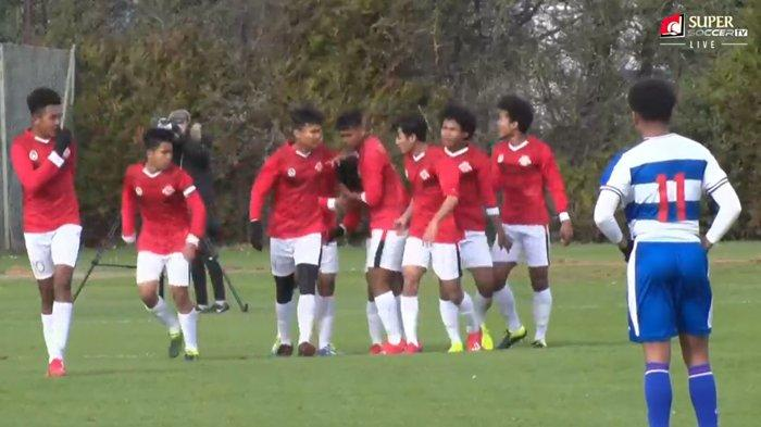Hasil Babak Pertama Garuda Select vs QPR U18, Bagus Kahfi & Supriyadi Bawa Garuda Select Unggul 3-0