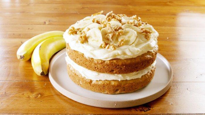 Resep Mini Cake Banana Cocopandan, Kudapan Manis untuk Temani Ngeteh Sore