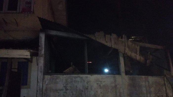 Gedung RSUD Kota Tanjungpinang Ludes Terbakar Tengah Malam, Asal Api Masih Belum Pasti