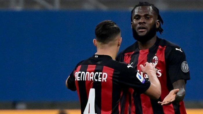 Hasil Liga Italia - Gol Franck Kessie Bawa AC Milan Ungguli Sampdoria di Babak Pertama