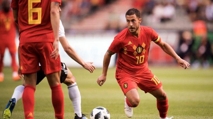 Perancis Vs Belgia - Eden Hazard Sebut Les Bleus Tim Idolanya di Masa Kecil