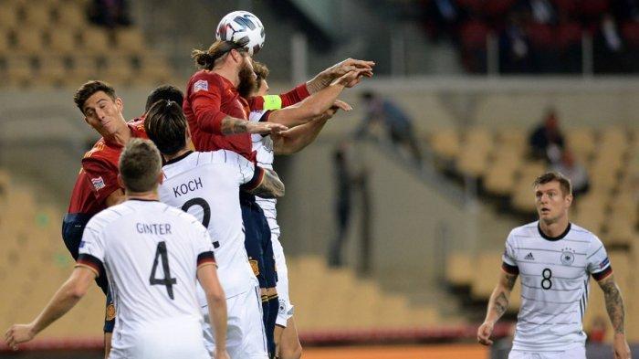Spanyol Kalahkan Jerman 6-0 Sergio Ramos Jadi Korban, Luis Enrique: Tidak Parah