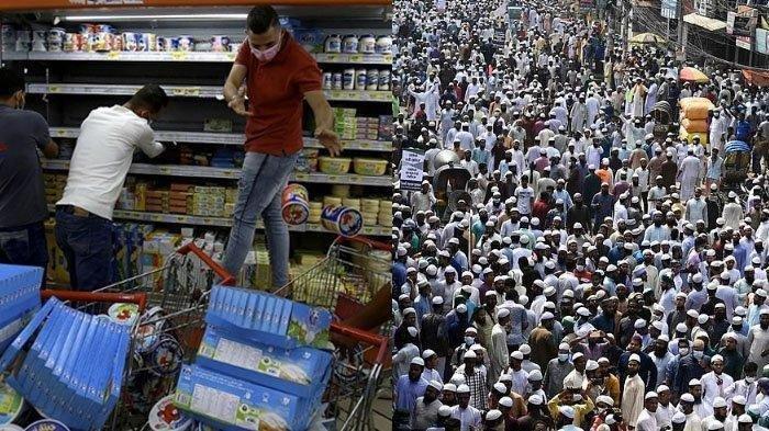Sepuluh ribu umat Islam di Bangladesh turun ke jalan memprotes Presiden Perancis Emmanuel Macron, yang dianggap menghina Islam dan nabi Muhammad SAW
