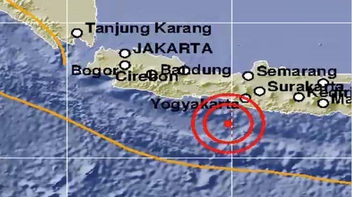 GEMPA HARI INI - Gempa 5,2 SR Guncang Bantul Yogyakarta Senin (13/7) Pagi, Ini Kata BMKG