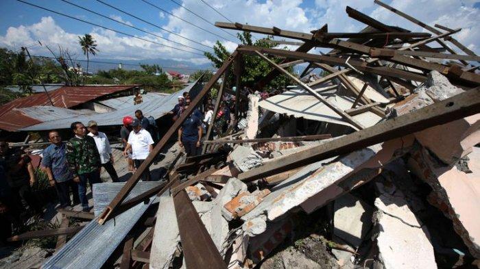 UPDATE GEMPA PALU - Sejak Gempa dan Tsunami Palu, Terjadi 508 Gempa Susulan di Sulawesi Tengah
