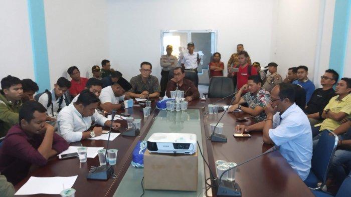 Tak Puas Jawaban BP Bintan, Massa Aksi dari Gempar Bubar, Jasman: Berbelit-Belit