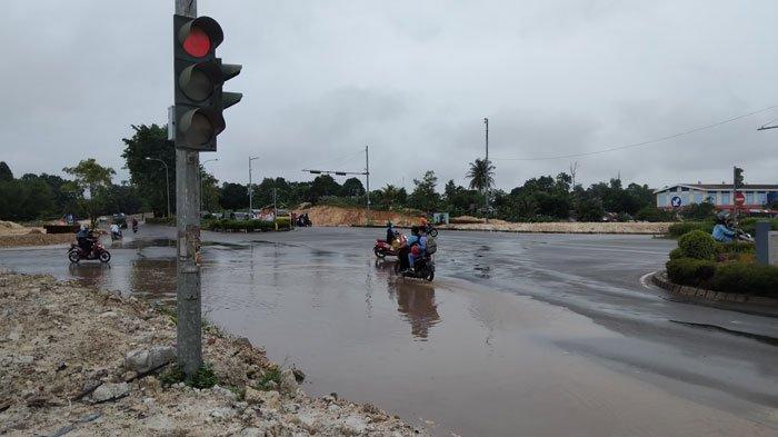 HARI Ini, Senin 13 September 2021, Sejumlah Wilayah di Kepri Diguyur Hujan Disertai Petir