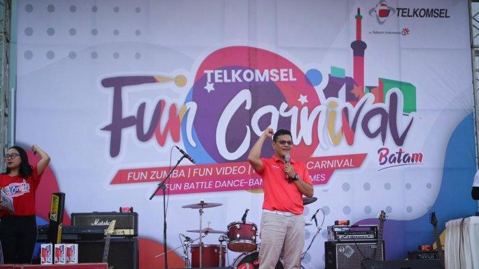 Telkomsel Batam Holds 'Fun Carnival', Carrying 5 Themes to Pamper the Customers