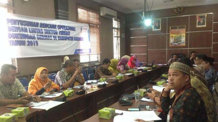 Penyusunan Rencana Operasional Lintas Sektor Terkait Germas di Kabupaten Karimun