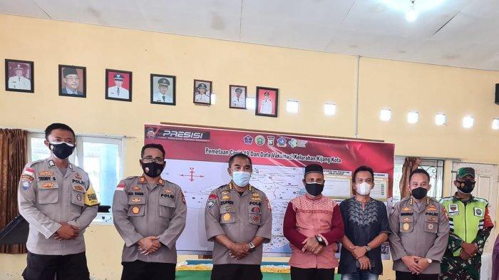Wilayah Kijang Kota Zona Kuning, Tim Supervisi Korbinmas Bangga Kinerja Tim Satgas