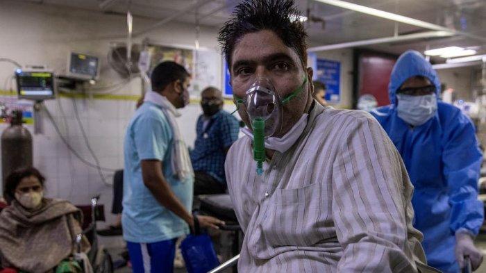 COVID-19 - Pasien Covid-19 India 4 Hari Tergeletak di Lantai RS, Meninggal Tanpa Sempat Ditangani