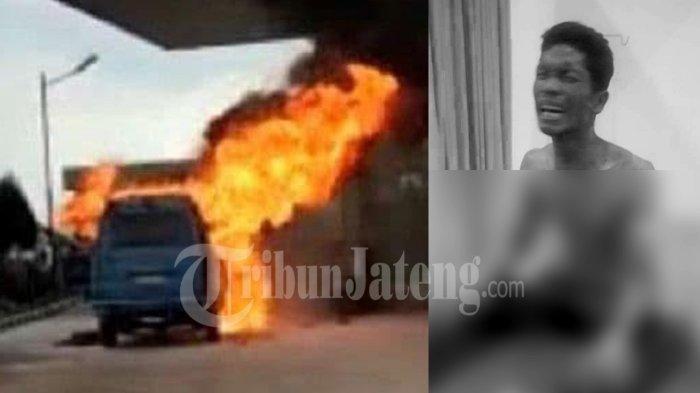 Terungkap Identitas Sopir Mobil Terbakar di Batam, Sehari-hari Jual Bensin Eceran