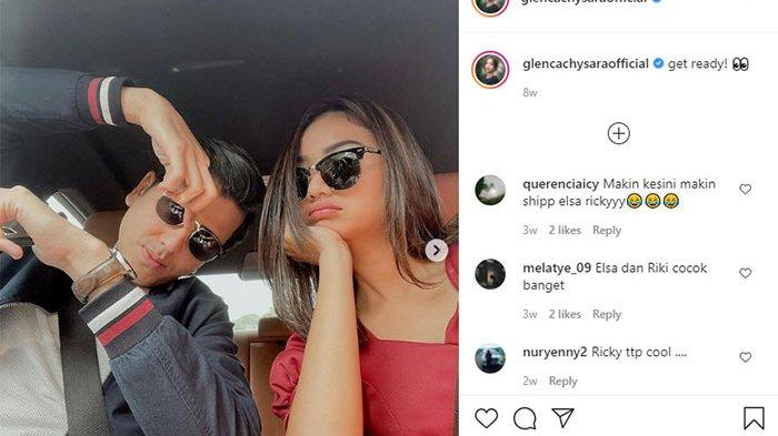 Glenca Chysara dan Rendi Jhon Pacaran? Foto Mesra Elsa dan Ricky Kompak Umbar Kemesraan