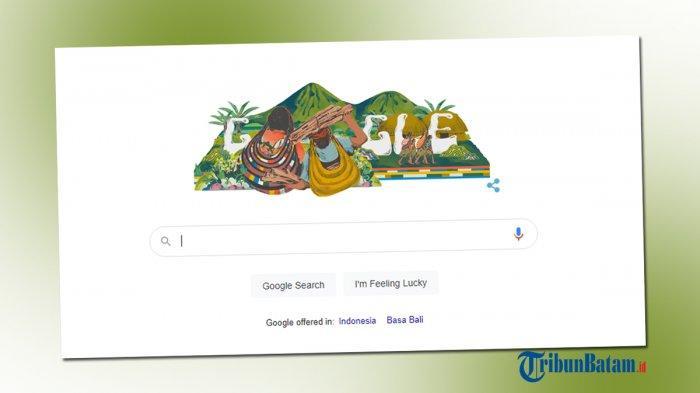 Google Doodle Hari Ini Tampilkan Noken Papua, Warisan Kebudayaan yang Terdaftar di UNESCO
