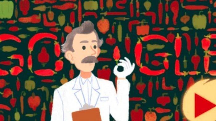 Google Doodle Hari Ini, Permainan Interaktif Scoville, Penemu Alat Pengukur Kepedasan Cabai