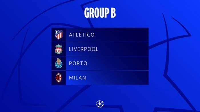 Grup B Liga Champions 2021-2022