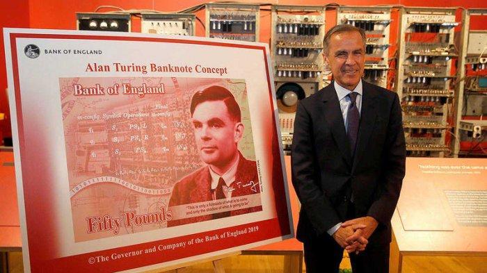 Bang of England Terbitkan Uang Kertas 50 Poundsterling Baru, Tampilkan Wajah Ahli Matematika