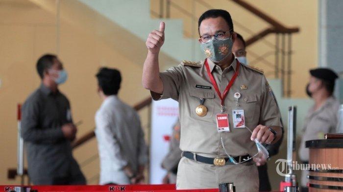Gubernur Anies Baswedan Diperiksa KPK, 5 Jam Baru Selesai dan Sampaikan Masalah Ini