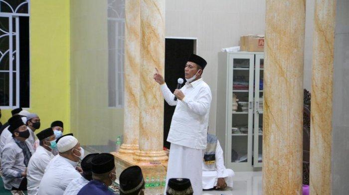 Gubernur Kepri Ansar Ahmad di Bintan, Ajak Warga Tekan Penyebaran Covid-19