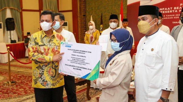 Gubernur Kepri Apresiasi BP Jamsostek, Jamin Pendidikan Anak Korban Laka Kerja