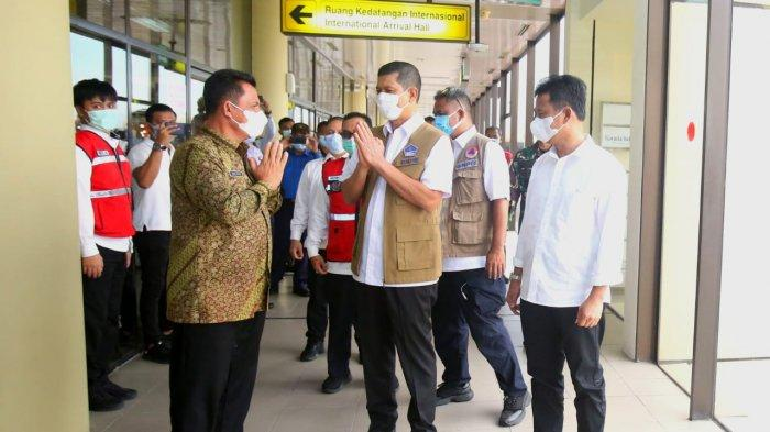 Gubernur Kepri Bertemu Kepala BNPB Letjen Doni Monardo, Bahas Penanganan PMI