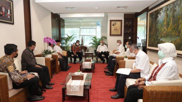 Gubernur Kepri, Ansar Ahmad bertemu Menteri PUPR di Jakarta, Senin (29/3/2021).