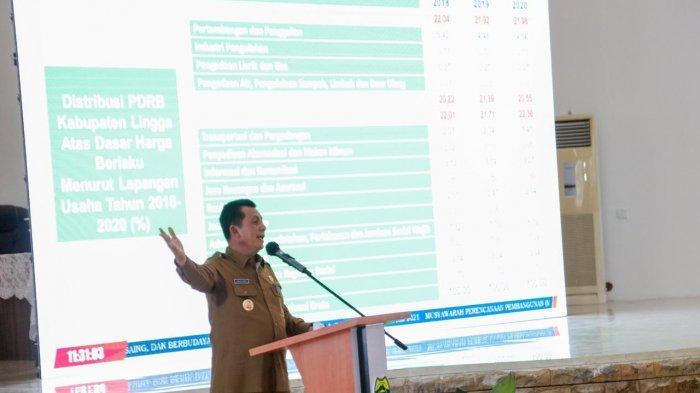 Gubernur Kepri Buka Musrenbang Lingga, Dorong Perda Investasi, 'Ada Gula, Ada Semut'
