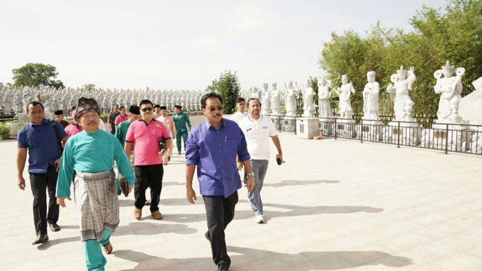 Gubernur Resmikan Vihara Patung Seribu. Ini Pesan Nurdin Basirun dan Wali Kota Tanjungpinang
