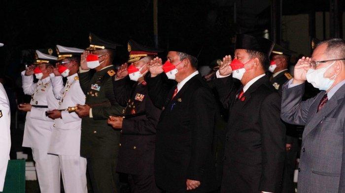 Gubernur Kepri Ikut Apel Kehormatan di TMP Pusara Bhakti, Serukan Lawan Pandemi Covid-19