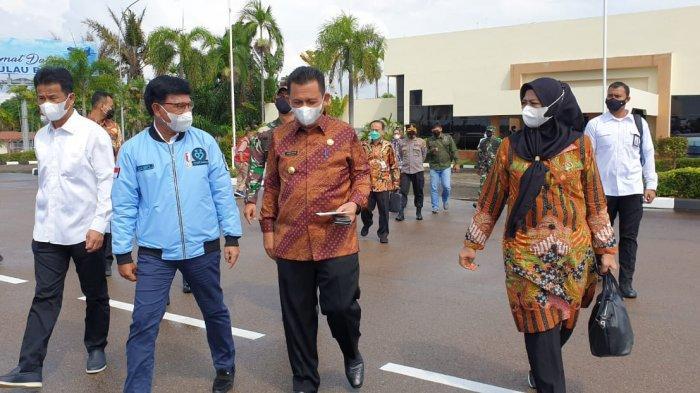 Gubernur Kepri Jemput Menkominfo, Kunjungan ke Natuna Bangun Digital Nation