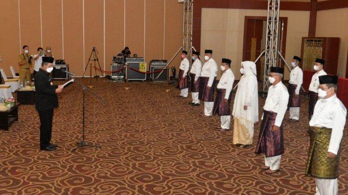 Gubernur Ansar Ahmad Lantik Wagub Marlin Agustina Ketum LPTQ Provinsi Kepri