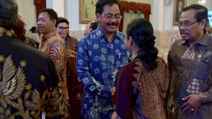 Gubernur Kepri Nurdin Basirun Lapor Soal Kepulauan, Jokowi Beri Nomor Koordinasi