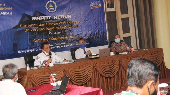 Gubernur Kepri Ajak Perguruan Tinggi Bangun SDM, Jawab Peluang Kerja dan Usaha