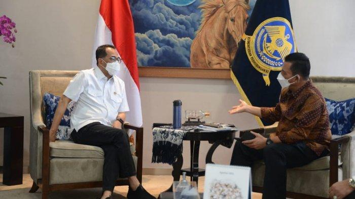 Gubernur Kepri Temui Menhub RI, Kebut Infrastruktur Karimun dan Natuna