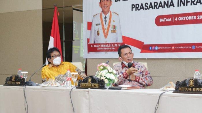Gubernur Beberkan 'Mesin' Ekonomi Kepri, Komisi V DPR RI Dukung Jembatan Batam Bintan