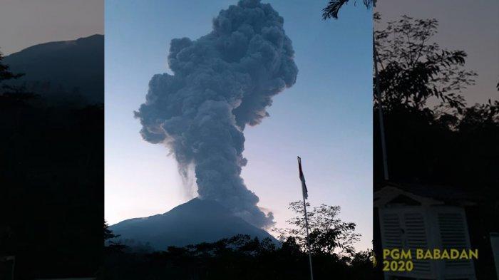 Gunung Merapi Meletus Selasa Pagi Pukul 05.22 WIB, Semburkan Abu Vulkanik Enam Kilometer