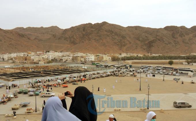 Jemaah Bintan Mulai Beraktivitas di Madinah