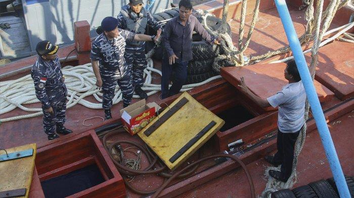 Dikejar Berputar-Putar di Perbatasan, KRI Bung Tomo-357 Amankan Kapal Ikan Vietnam