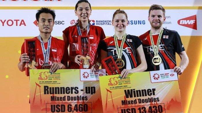 Hasil Lengkap Final Thailand Masters 2020, 5 Gelar Juara dari 5 Negara Berbeda, Indonesia Runner Up