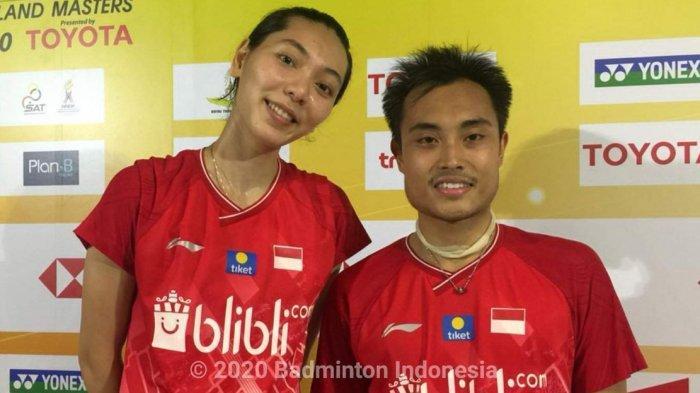 Jadwal Thailand Masters 2020 Hari Ini 4 Wakil Indonesia Main, Dua Ganda Campuran Saling Berhadapan