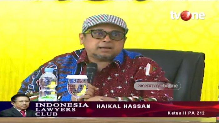 Haikal Hassan Protes soal Video Ninoy Karundeng di ILC, Karni Ilyas Bela Diri: Tugas Saya Bawa Acara