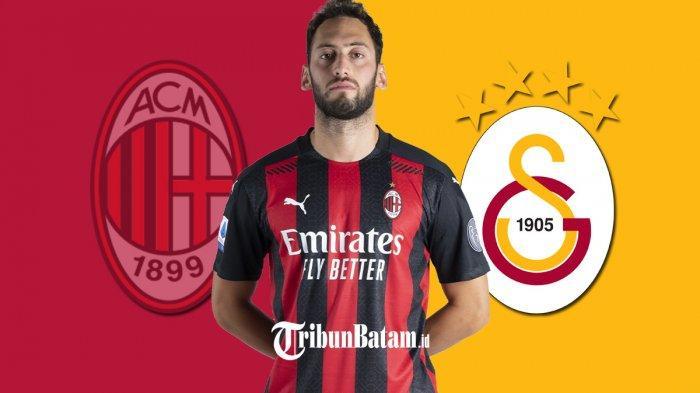 Hakan Calhanoglua di antara AC Milan dan Hakan Calhanoglu