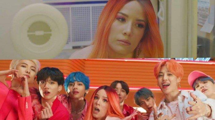 Ternyata Ini Alasan Halsey Enggan Menatap Mata Jimin BTS Dalam MV Boy With Luv, ARMY Jangan Baper Ya