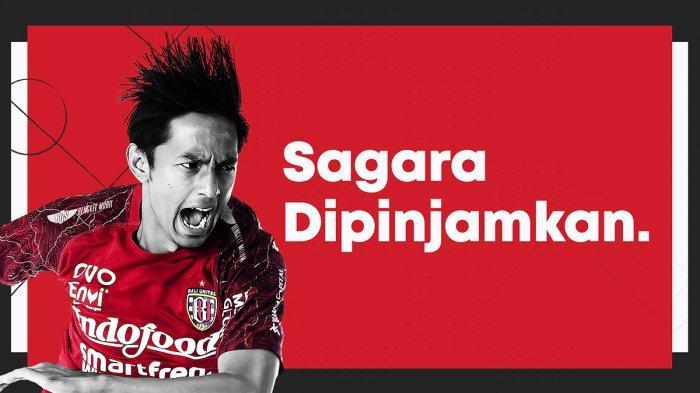 Resmi, Bali United Pinjamkan Hanis Sagara ke PSMS Medan