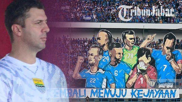 Skuad Persib di Liga 1 2019, Miljan Radovic Leluasa Pilih Pemain agar Juara