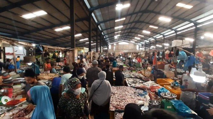 Harga Cabai di Pasar Bintan Center Tanjungpinang Turun, Kabar Baik Buat Emak-Emak