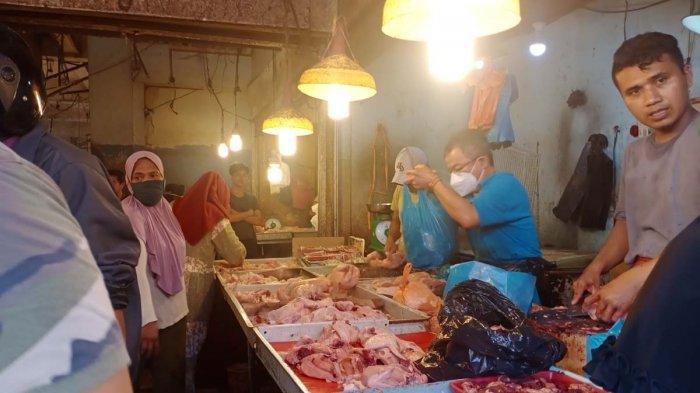 Jelang Ramadhan 2021, Harga Aneka Daging di Pasar Tos 3000 Batam Naik