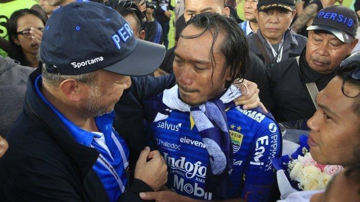 BERITA PERSIB - Kabulkan Permintaan Hariono, Manajemen: Dia akan Pensiun di Persib Bandung